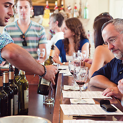 Crosskeys, Va - A Sunday wine tasting and luncheon at Crosskeys Vineyard house.