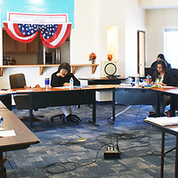 Members of the Ramah Navajo School Board of Trustees held a special meeting in Pinehill Saturday to discuss options to keep its programs serviing the community, in spite of a financial crisis caused by lack of funding to cover fiscal year 2019.