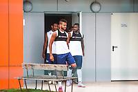 Sortie des vestiaires  - 30.06.2015 - Reprise de Montpellier - 2015/2016<br />Photo : Alexandre Dimou / Icon Sport