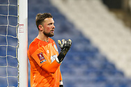 Portrait of Huddersfield Town goalkeeper Ben Hamer (1)  during The FA Cup match between Huddersfield Town and Plymouth Argyle at the John Smiths Stadium, Huddersfield, England on 9 January 2021.