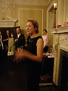 Justine Picardie, Book launch of Truth or Dare,  edited by Justine Picardie. House of St. Barnabus. Sales of the book at the launch went towards Breast  Cancer  Care. Greek St. London. 30 September 2004. SUPPLIED FOR ONE-TIME USE ONLY-DO NOT ARCHIVE. © Copyright Photograph by Dafydd Jones 66 Stockwell Park Rd. London SW9 0DA Tel 020 7733 0108 www.dafjones.com