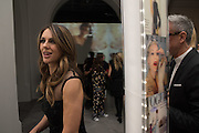 ELIZABETH HURLEY, Vogue100 A Century of Style. Hosted by Alexandra Shulman and Leon Max. National Portrait Gallery. London. WC2. 9 February 2016.
