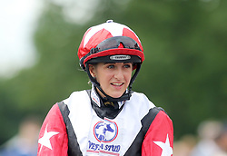 Jockey Josephine Gordon on Koropick  wins the Betfred TV Chipchase Stakes during the Betfred Northumberland Plate Day at Newcastle Racecourse
