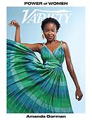 September 29, 2021 - WORLDWIDE: Amanda Gorman Covers Variety Magazine Power of Women Issue