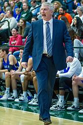 BLOOMINGTON, IL - January 04:  Mark Scherer during a college basketball game between the IWU Titans  and the Millikin Big Blue on January 04 2020 at Shirk Center in Bloomington, IL. (Photo by Alan Look)