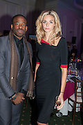 CHIKE OKONKOWO; TAMSIN EGERTON, Fundraising Gala for the Zeitz foundation and Zoological Society of London hosted by Usain Bolt. . London Zoo. Regent's Park. London. 22 November 2012.