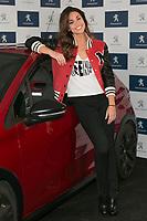 Spanish of sports presenter Lara Alvarez, current girlfriend of the Formula 1 driver Fernando Alonso, during the presentation of new Peugeot 208 GTI at Jarama Circuit in Madrid, Spain. January 20 2015. (ALTER PHOTOS/Carlos Dafonte)