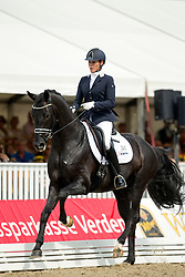 Maree Gerdine (NED) - Dream Boy<br /> FEI World Dressage Championships for Young Horses<br /> Internationales Dressur- und Springfestival - Verden 2014<br /> © Dirk Caremans