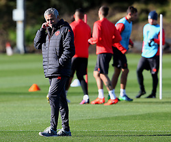 Manchester United manager Jose Mourinho  - Mandatory by-line: Matt McNulty/JMP - 19/10/2016 - FOOTBALL - Manchester United - Training session ahead of Europa League game against Fenerbahce