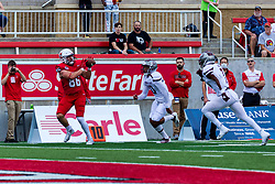 NORMAL, IL - October 02: Bryson Deming  during a college football game between the Bears of Missouri State and the ISU (Illinois State University) Redbirds on October 02 2021 at Hancock Stadium in Normal, IL. (Photo by Alan Look)