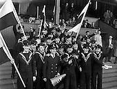 1961 - Army soccer final, Air Corps v Navy at Dalymount Park