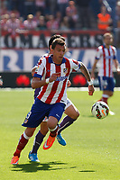 Atletico de Madrid´s Mandzukic during 2014-15 La Liga Atletico de Madrid V Espanyol match at Vicente Calderon stadium in Madrid, Spain. October 19, 2014. (ALTERPHOTOS/Victor Blanco)
