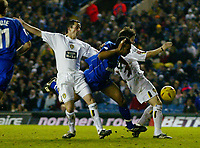 Fotball<br /> England 2004/2005<br /> Foto: BPI/Digitalsport<br /> NORWAY ONLY<br /> <br /> Leeds United v Millwall<br /> Coca Cola Championship. <br /> 19/12/2004.<br /> <br /> Paul Ifill is brought down in the box by John Oster for Millwall's late penalty