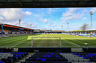 General view of the Kenilworth Road stadium before the EFL Sky Bet League 1 match between Luton Town and Wycombe Wanderers at Kenilworth Road, Luton, England on 9 February 2019.