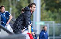 AMSTELVEEN - Coach Xanti Freixa (Amsterdam)    tijdens   hoofdklasse hockeywedstrijd mannen,  AMSTERDAM-PINOKE (1-3) , die vanwege het heersende coronavirus zonder toeschouwers werd gespeeld.  . COPYRIGHT KOEN SUYK