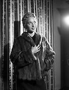 23/9/1959<br /> 9/23/1959<br /> 23 September 1959<br /> Barnado's Furs, Grafton St., Dublin. Special for the Weekly Post.