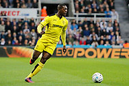 Burton Albion striker Marvin Sordell (9) during the EFL Sky Bet Championship match between Newcastle United and Burton Albion at St. James's Park, Newcastle, England on 5 April 2017. Photo by Richard Holmes.