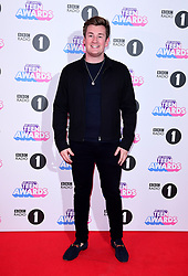Oli White attending BBC Radio 1's Teen Awards, at the SSE Arena, Wembley, London.