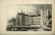 Hospital for Consumption and Diseases of the Chest (Brompton) London From the book Illustrated London, or a series of views in the British metropolis and its vicinity, engraved by Albert Henry Payne, from original drawings. The historical, topographical and miscellanious notices by Bicknell, W. I; Payne, A. H. (Albert Henry), 1812-1902 Published in London in 1846 by E.T. Brain & Co