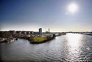 Nederland, Roermond, 15-7-2011Punt waar de rivier de Roer uitmondt in de Maas.Foto: Flip Franssen/Hollandse Hoogte