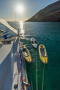 Baja Mexico, Ensenada Grande, Isla La Parfida, Sea of Cortez, March 2015, Orion sailboat