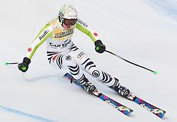 21.01.2011, Tofana, Cortina d Ampezzo, ITA, FIS World Cup Ski Alpin, Lady, Cortina, SuperG, im Bild Viktoria Rebensburg (GER, #1) // Viktoria Rebensburg (GER) during FIS Ski Worldcup ladies SuperG at pista Tofana in Cortina d Ampezzo, Italy on 21/1/2011. EXPA Pictures © 2011, PhotoCredit: EXPA/ J. Groder