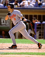 CHICAGO - JULY 1: Cal Ripken Jr. of the Baltimore Orioles bats against the Chicago White Sox on July 1, 2001 at Comiskey Park in Chicago, Illinois. (Photo by Ron Vesely) Subject:   Cal Ripken Jr.
