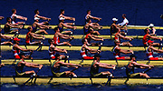 Atlanta, USA,  M8+ heat of the men's eight's, NED - CAN - AUS - ROM - GBR at the 1996, Olympic Rowing Regatta at Lake Lanier, Gainsville Georgia,  [Photo Peter Spurrier/Intersport Images]