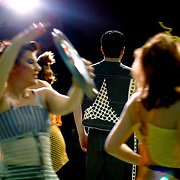 Hubcap dance, Brisbane, Australia (November 2002)