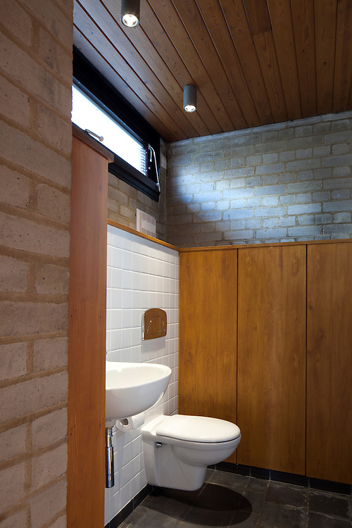toilet and bathroom in 1960s house