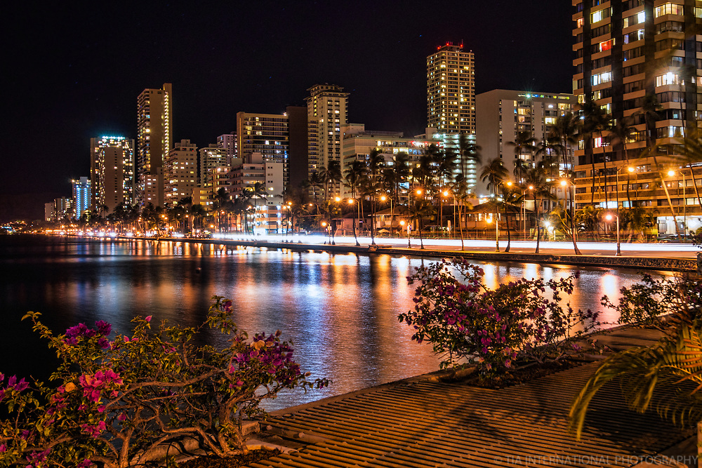 Waikiki Skyline & Ala Wai Canal