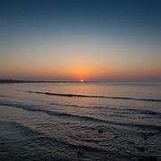 Today's  winter sunrise at Narragansett Town Beach,  .  June  1, 2013.