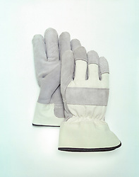 Pair of industrial protective work gloves