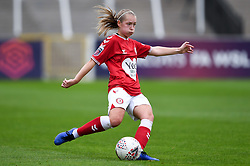 Flo Allen of Bristol City Women - Mandatory by-line: Ryan Hiscott/JMP - 18/10/2020 - FOOTBALL - Twerton Park - Bath, England - Bristol City Women v Birmingham City Women - Barclays FA Women's Super League