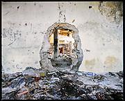 Ex oleificio, zona Magliana. Roma, 1 dicembre 2013. Christian Mantuano / OneShot