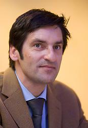 Marko Rajster, v.d. direktorja direktorata za sport pri MSS,  at Meeting of OKS in Grand hotel Union, on March 23, 2009, Ljubljana, Slovenia. (Photo by Vid Ponikvar / Sportida)