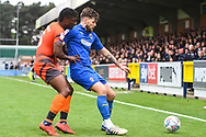 AFC Wimbledon Midfielder Anthony Wordsworth (40) during the EFL Sky Bet League 1 match between AFC Wimbledon and Wycombe Wanderers at the Cherry Red Records Stadium, Kingston, England on 27 April 2019.