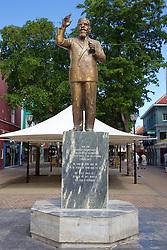 Moises Frumencio da Costa Gomez Statue, Punda