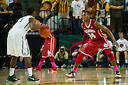 WACO, TX - JANUARY 24: Buddy Hield #24 of the Oklahoma Sooners defends against Kenny Chery #1 of the Baylor Bears on January 24, 2015 at the Ferrell Center in Waco, Texas.  (Photo by Cooper Neill/Getty Images) *** Local Caption *** Buddy Hield