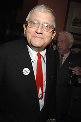 DAVID HOCKNEY at the 2008 Oldie of The year Awards and lunch held at Simpsons in The Strand, London on 11th March 2008.<br /><br />NON EXCLUSIVE - WORLD RIGHTS