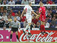 Jan KOLLER, Tsjekkia  Martin LAURSEN, Danmark<br />  EURO 2004<br /> Czech Republic V Denmark (3-0) 27/06/04 Quarter Finals  <br /> EURO 2004 PORTUGAL