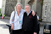 NO FEE PICTURES                                                                                                                                                8/6/19 Lord Henry Mountcharles and wife Lady Iona pictured at Metallica's sold out concert, with 75,000 fans at Slane Castle in Co Meath. Picture: Arthur Carron