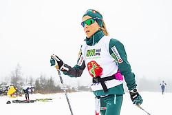 November 16, 2018 - BeitostØLen, NORWAY - 181116 Therese Johaug of Norway during warm up ahead of the women's 10km classic technique interval start during Beitosprinten 2018 on November 16, 2018 in Beitostølen..Photo: Vegard Wivestad Grøtt / BILDBYRÃ…N / kod VG / 170247 (Credit Image: © Vegard Wivestad GrØTt/Bildbyran via ZUMA Press)