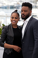 Zinzi Evans and Director and writer Ryan Coogler at the 71st Cannes Film Festival, Thursday 10th May 2018, Cannes, France. Photo credit: Doreen Kennedy