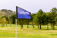 03-05-2018 The Point at Polzeath Golf Club, Wadebridge  Cornwall, Engeland<br /> <br /> The Point - Vlag