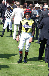FRANKIE DETTORI at the 3rd day of the Glorious Goodrwood Racing festival 2006 - Ladies Day, at Goodwood Race course, West Sussex on 3rd August 2006.<br /><br />NON EXCLUSIVE - WORLD RIGHTS