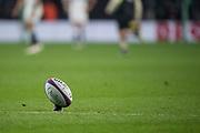 Twickenham, United Kingdom, Saturday, 24th  November 2018, RFU, Rugby, Stadium, England, Penalty Kick, Ball Positioned, Quilter Autumn International, England vs Australia, © Peter Spurrier