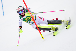 January 7, 2018 - Kranjska Gora, Gorenjska, Slovenia - Katharina Truppe of Austria competes on course during the Slalom race at the 54th Golden Fox FIS World Cup in Kranjska Gora, Slovenia on January 7, 2018. (Credit Image: © Rok Rakun/Pacific Press via ZUMA Wire)