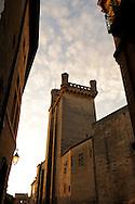 France, Languedoc roussillon, Gard (30), Uzès, le Duché, la tour Bermonde