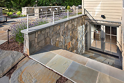 19595 Aberlour rear exterior landscaping stone exterior basement stairs VA2_229_899 Invoice_3987_9595_Aberlour